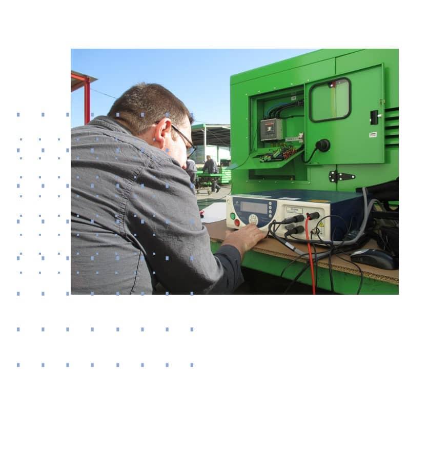 Cómo instalar una planta eléctrica